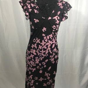 Black and Pink Dress by My Michelle Size Medium